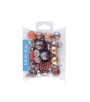 hildie & jo™ Mix Beads-Warm Brown, , hi-res