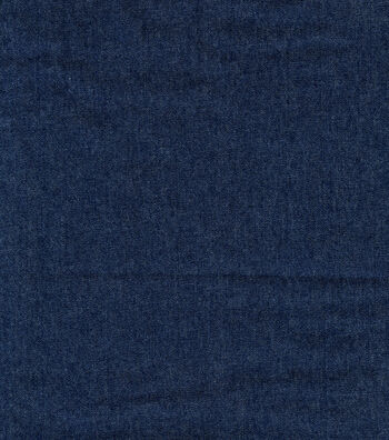 "Bottomweight 7oz Stretch Denim Fabric 57""-Dark Wash"