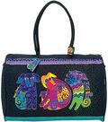 Laurel Burch Travel Bag 21\u0022x9\u0022x16\u0022-Dogs&Doggies