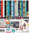 Carta Bella Collection Kit 12\u0022X12\u0022-Space Academy