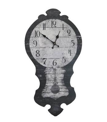 Maker's Halloween Wood Wall Clock