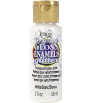 DecoArt Americana Gloss Enamel Crystal Glitter 2oz , , hi-res