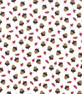 Holiday Showcase™ Harvest Cotton Fabric 43\u0022-Acorns & Leaves