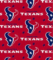 "Houston Texans Fleece Fabric 58""-Red, , hi-res"