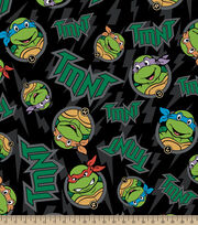 Tmnt Badge Toss Flc, , hi-res