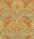 Waverly Print Fabric 54\u0022-Swept Away/Berry