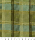 Anti-Pill Fleece Fabric 59\u0022-Into The Wild Green Plaid