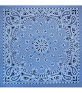 Hav-A-Hank Paisley Bandanna-Chambray Blue