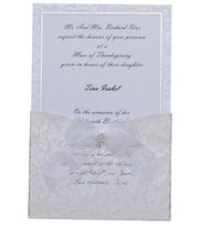 Wilton® 25ct Print-Your-Own Invitations Kit-Happy Day , , hi-res