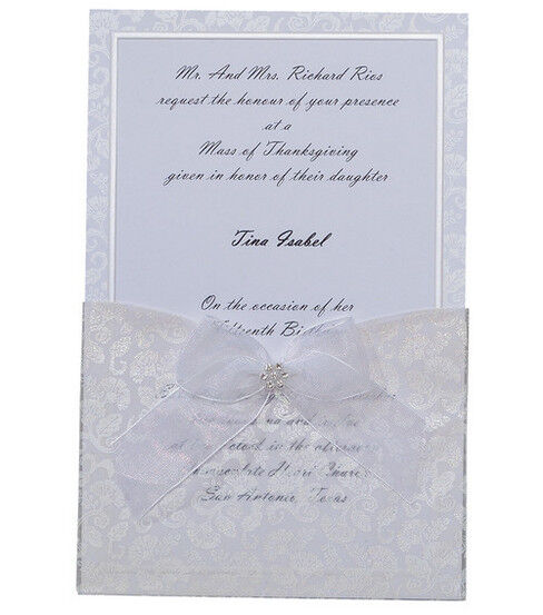 Wilton® 25ct Print Your Own Invitations Kit Happy Day