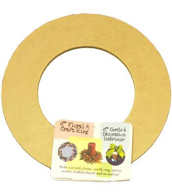 "Biodegradable Craft Ring-6"""