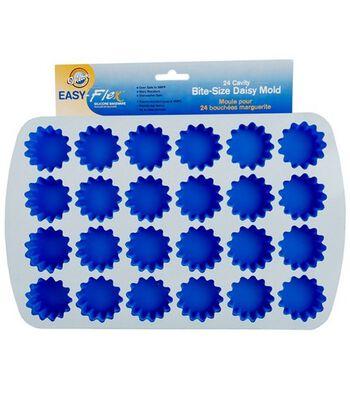 Wilton® Easy Flex Silicone Bite Size Daisy Molds