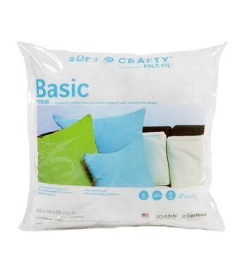 """Soft N Crafty Basic 14"""" x 14"""" Pillow"""