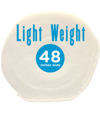 "Poly-Fil® Light-Weight Batting 48"" wide x 45 yard Roll"