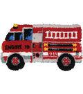 Shaped Latch Hook Kit 32\u0022X17\u0022-Fire Truck