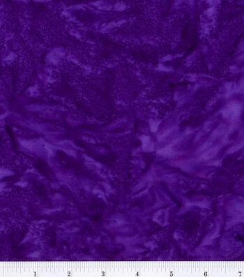"Legacy Studio™ Indonesian Batiks Cotton Fabric 44""-Purple"