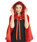 Maker\u0027s Halloween Adult Riding Hood Capelet-Red