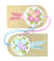 Jolee's Boutique Parcel Dimensional Embellishments-Bouquet Tags, , hi-res