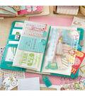 Webster\u0027s Pages Color Crush Traveler Notebook with Zipper Pocket