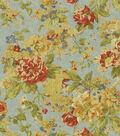 Waverly Upholstery Fabric 54\u0022-Floral Engagement/Woodland