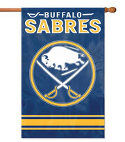 Buffalo Sabres Applique Banner Flag, , hi-res