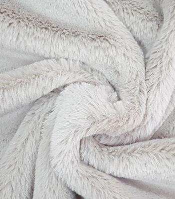 "Fashion Faux Fur Fabric 57""-Cheshire Taupe"