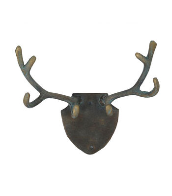 Fall Into Color Thanksgiving Antler Metal Wall Hook