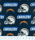 San Diego Chargers Cotton Fabric 58\u0022-Helmet Logo