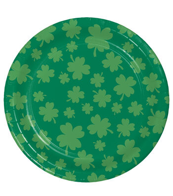 St. Patrick's Day 8 pk Lunch Plates-Luck of The Irish