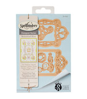Spellbinders® Shapeabilities® Etched Die-Twisted Floral Tags, , hi-res