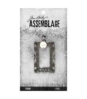 Tim Holtz® Assemblage Pearl & Ornate Frame Pendant, , hi-res