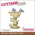 CottageCutz Die Victorian Birdbath