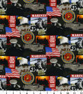 United States Military Cotton Fabric 43\u0022-Logo