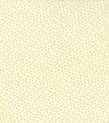 """Patriotic Cotton Fabric 43""""-Mini Stars"""