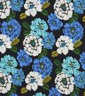 Robert Allen @ Home Print Fabric 55\u0022-Brushed Floral Ultramarine