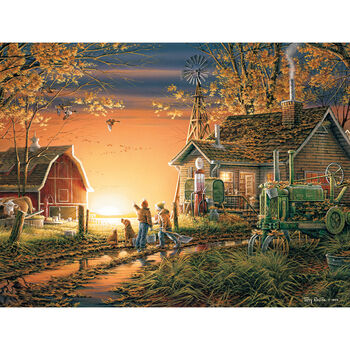 White Mountain Puzzles Jigsaw Puzzle Morning Surprise