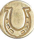Manuscript Decorative Seal Coin-Horseshoe