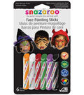 6ct Face Painting Sticks Halloween