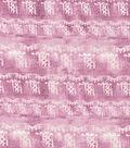 Kathy Davis® Rayon & Spandex Apparel Fabric 58\u0027\u0027-Mauve Tribal