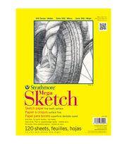 """Strathmore Mega Sketch Paper Pad 9""""X12""""-50lb 120 Sheets, , hi-res"""