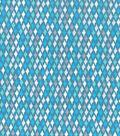 Keepsake Calico™ Cotton Fabric 43\u0022-Spa Diamond Geo