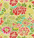 Waverly Lightweight Decor Fabric-Zen Garden/Green Tea