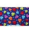 Blizzard Fleece Fabric 59\u0022-Chill Froggies