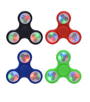 LED Fidget Spinner-Assorted Colors, , hi-res