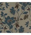 Carina Aqua Silhouette Floral Wallpaper