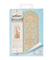 Spellbinders® Shapeabilities® Etched Die-Filigree Bookmark Tag, , hi-res