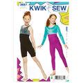 Kwik Sew Girls Casual-K3887