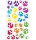 EK Success Sparkler Classic Stickers-Animal Tracks