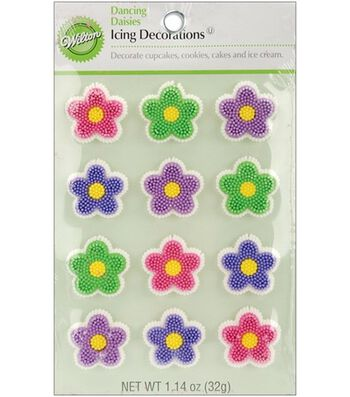 Wilton® Icing Decorations-Dancing Daisies