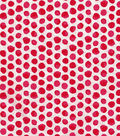 Keepsake Calico™ Cotton Fabric-Red Shaded Dot